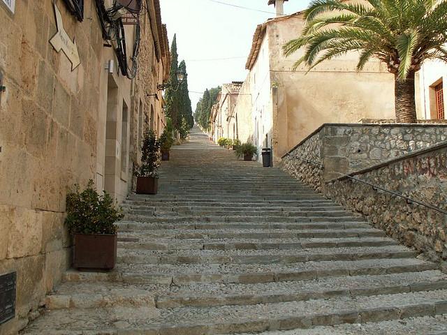 El Calvari, Pollensa Old Town