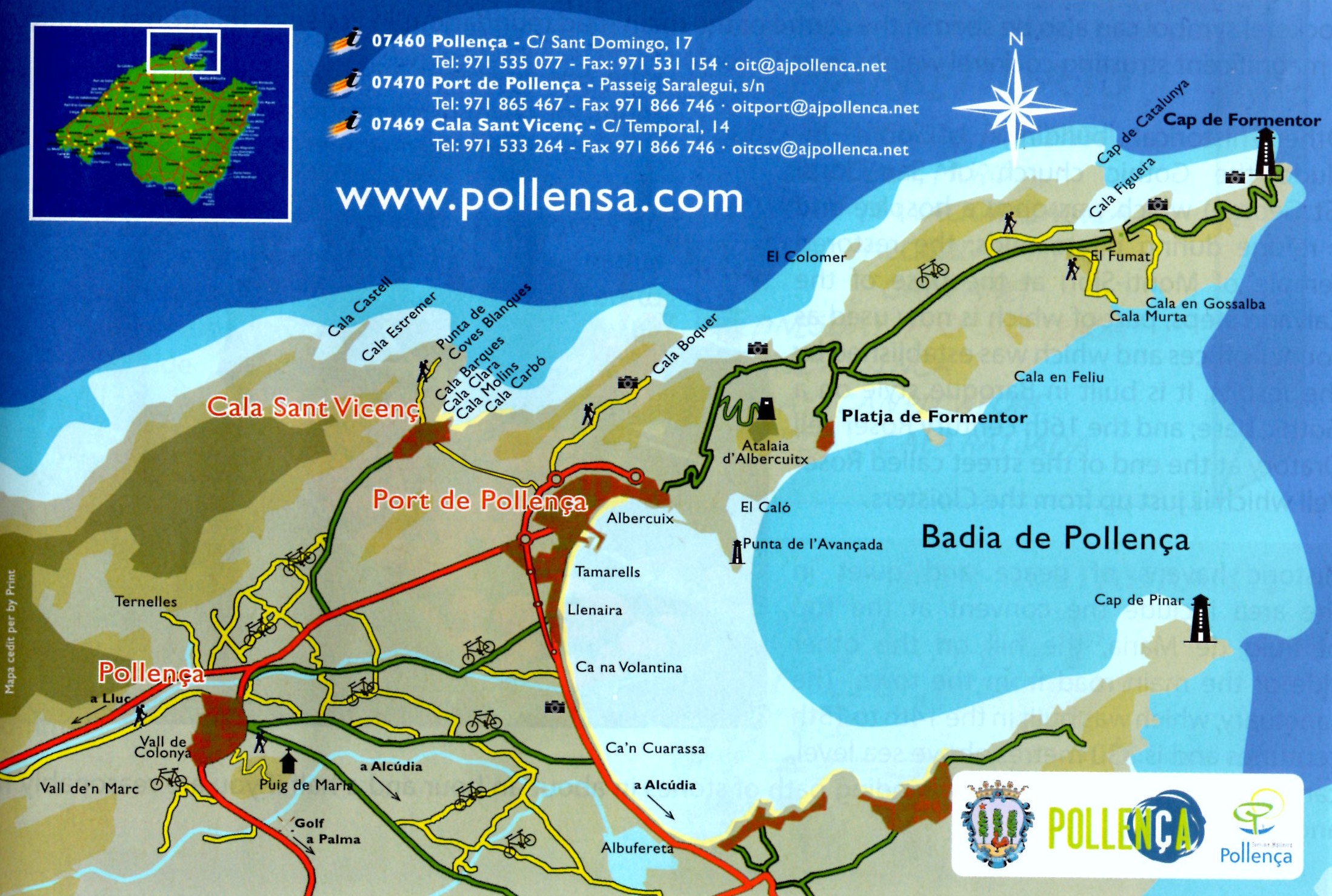 Our informative blog covers the entire area of Pollensa""
