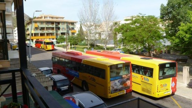 local buses port pollensa