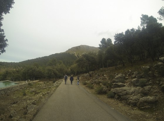 walk from pollensa to lluc